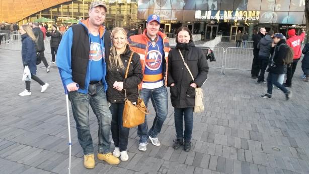 Thomas, Cathy, jag och min fru